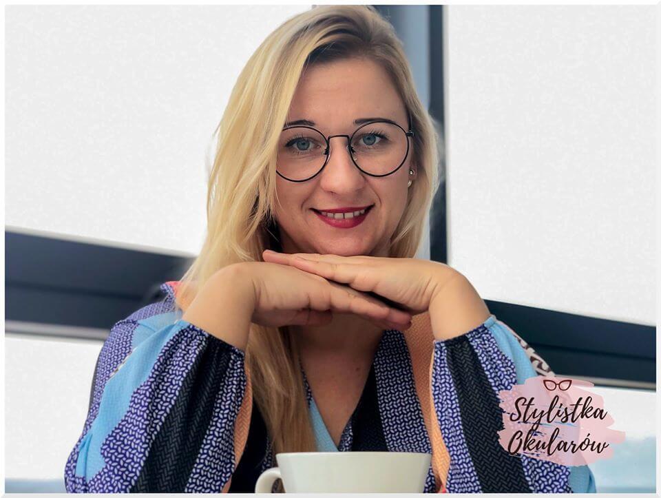 stylistka okularów Lucyna Seniów